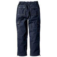 Spodnie bojówki loose fit straight ciemnoniebieski marki Bonprix