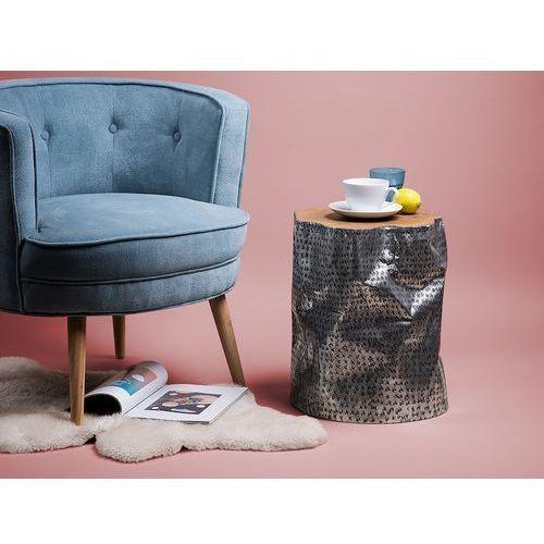 Beliani Stolik kawowy - drewniany - do pokoju - ława kawowa - stół - gordon