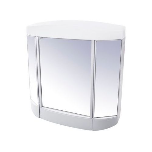 BISK Szafka lustrzana 620x630mm, biała 94102, 94102
