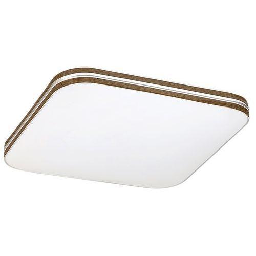 Plafon Rabalux Oscar 2764 lampa sufitowa 1x18W LED biały /orzech