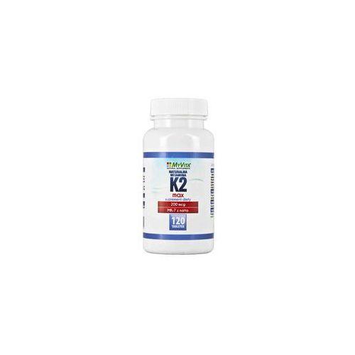 Naturalna witamina k2 mk-7 max 200mcg 120 tabletek marki Myvita