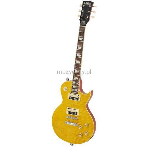 v100afd paradise flamed maple gitara elektryczna marki Vintage