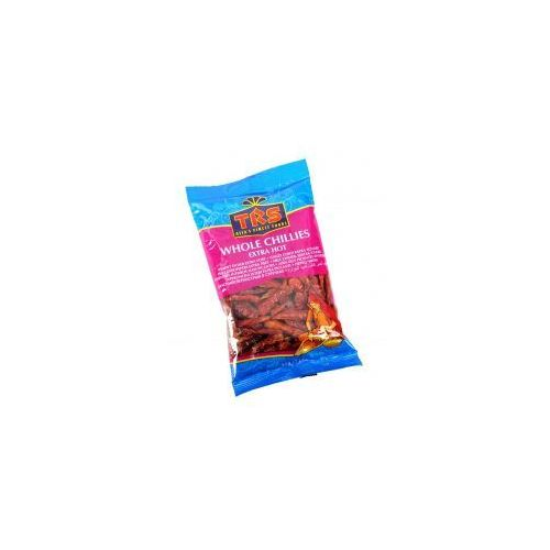 Papryka chilli (whole chillies extra hot) 100 gram marki Trs