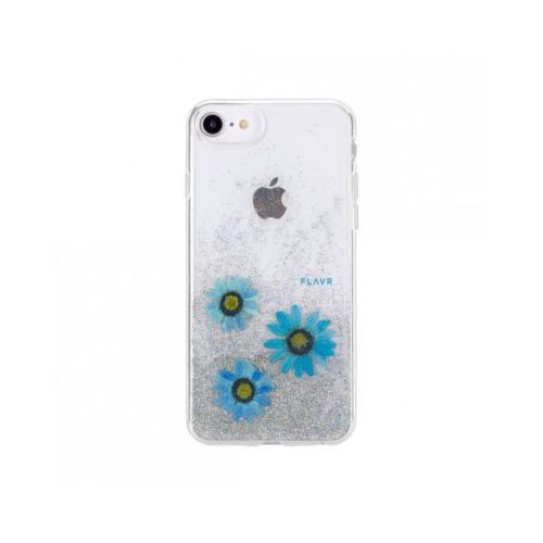 Etui iplate real flower julia do apple iphone 6/6s/7/8 niebieski (31458) marki Flavr