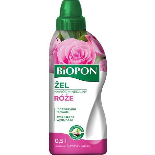 Biopon żel nawóz mineralny do róż 500 ml (5904517106208)