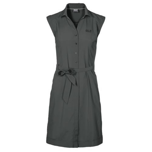 Sukienka malawi dress - greenish grey marki Jack wolfskin