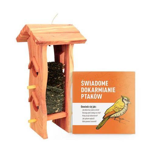 Trixie Drewniany karmnik dla ptaków do powieszenia. karmidło dla ptaków z drewna.