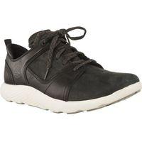 Buty Timberland FLYROAM LEATHER OXFORD BLACK - Męskie Sneakersy - czarny (0191478621085)