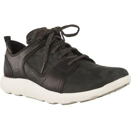 Buty Timberland FLYROAM LEATHER OXFORD BLACK - Męskie Sneakersy - czarny
