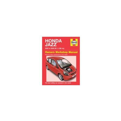 Honda Jazz Service and Repair Manual (9780857339775)