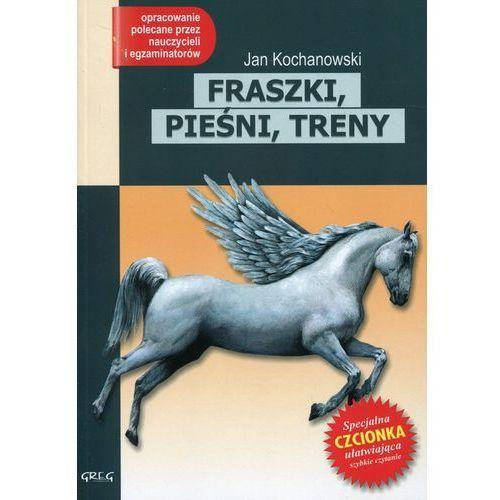 FRASZKI PIEŚNI TRENY JAN KOCHANOWSKI LEKTURA WYDANIE Z OPRACOWANIEM (126 str.)