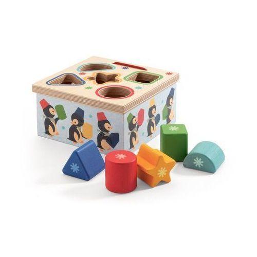 Djeco Drewniane iglo dopasuj ksztalty (3070900064096)