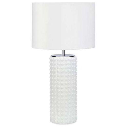 Stojąca lampa stołowa proud 107484 nocna lampka abażurowa biała marki Markslojd