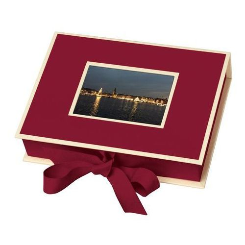Pudełko na zdjęcia Die Kante burgund
