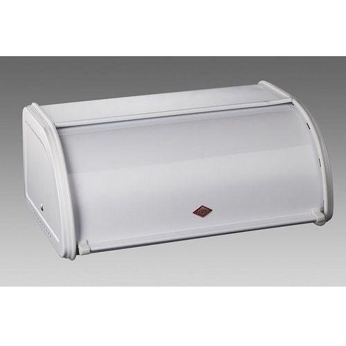 Wesco - pojemnik na pieczywo classic mini 33 cm - biały - biały