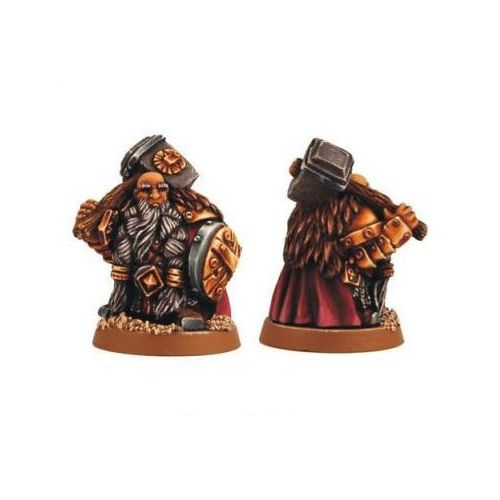 Scibor 28fm0005 - dwarf guardian 28m marki Scibor miniatures