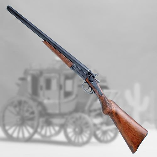 Strzelba dwururka amerykańska wyatt earp eua 1881r.-dubeltówka marki Denix