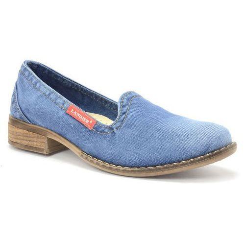 Mokasyny Lanqier 42C222 jeans
