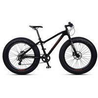 """Rower INDIANA Fat Bike 26"""" 7S 18"""" Czarny + DARMOWY TRANSPORT! + Zamów z DOSTAWĄ JUTRO!"""