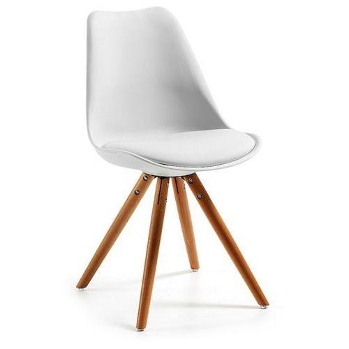 LaForma:: Krzesło LARS Białe - biały
