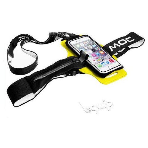 """Zestaw szelki na telefon chest plate + etui slip-in bag 4,7"""" - żółty marki Moc"""