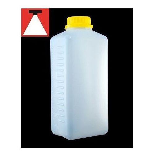 Retro-Image butelka na chemię biała z podziałką 1l