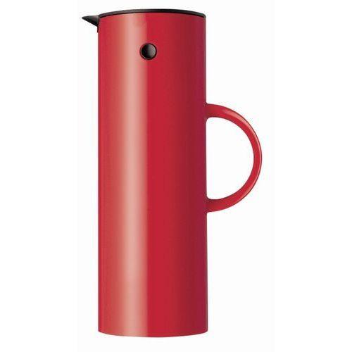 - termos 1,0 l - czerwony - czerwony marki Stelton