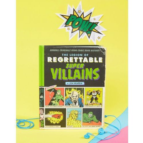 The legion of regrettable supervillains book - multi marki Books
