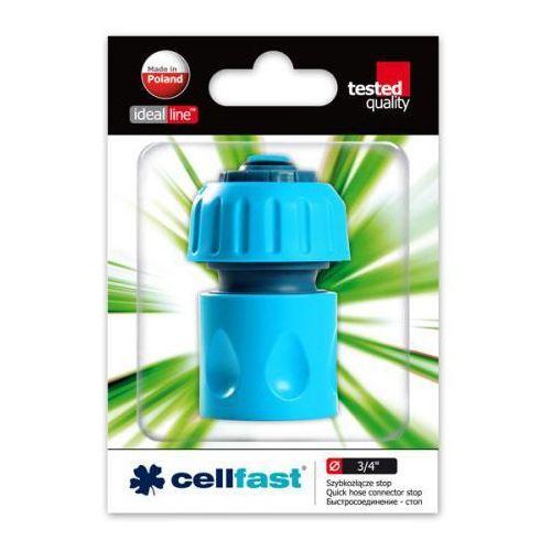Szybkozłącze - stop (ABS) Cellfast 3/4 - produkt z kategorii- Pozostałe nawadniania i technika wodna