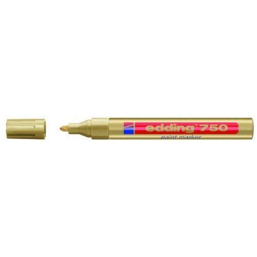 Edding Marker olejowy 750, złoty, końcówka okrągła 2-4 mm - rabaty - porady - hurt - negocjacja cen - autoryzowana dystrybucja - szybka dostawa