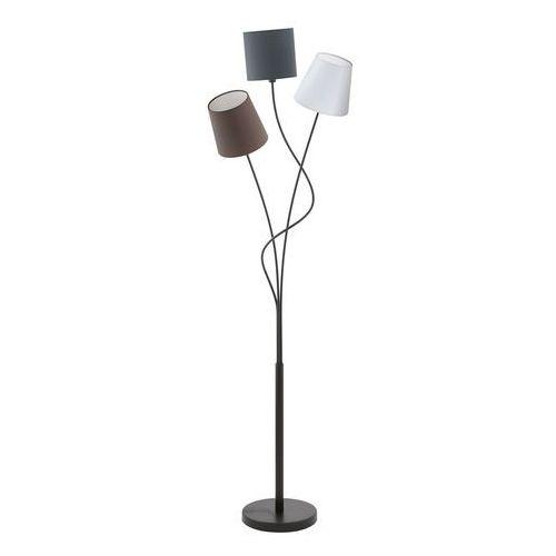 Lampa stojąca oprawa Eglo Maronda 3x40W E14 czarna/biała/brązowa 94995 (9002759949952)