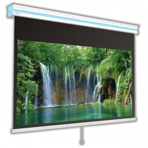 Ekran ręcznie rozwijany cirrus x 240x180cm, 4:3, white ice marki Avers