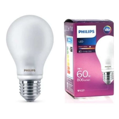 Żarówka LED Philips 8718696472187, 7 W = 60 W, 806 lm, 2700 K, ciepła biel, 230 V, 10000 h (8718696472187)