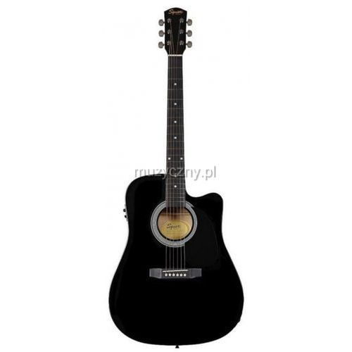 OKAZJA - squier sa105 ce sunburst gitara elektroakustyczna marki Fender