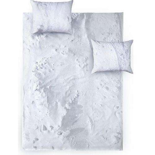 Foonka Pościel hayka śnieg 160 x 200 cm podwójna