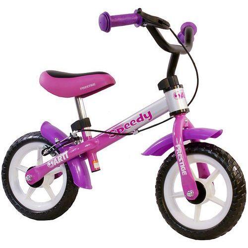 Rowerek biegowy speedy m /różowo - fioletowo - srebrny/ marki Arti