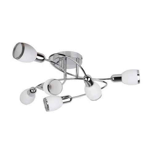Plafon lampa sufitowa oprawa spot elite 6x40w e14 chrom / biały 6064 marki Rabalux