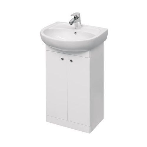 Szafka z umywalką Koło Solo 50 cm biała