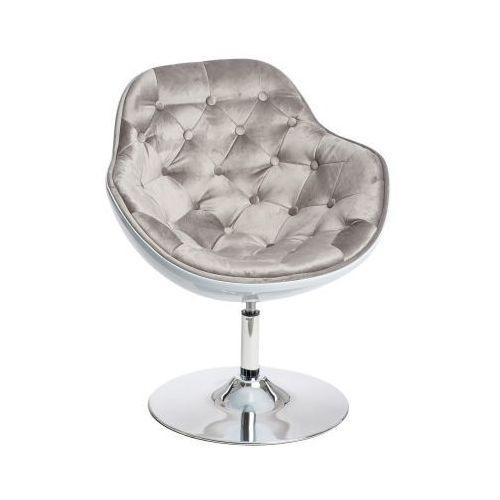 Pikowany fotel obrotowy pezzo velvet marki D2
