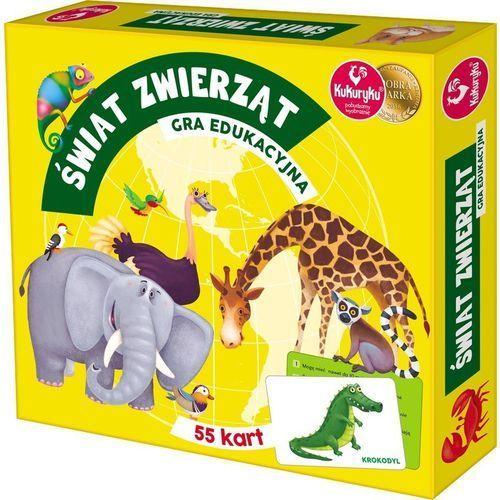 Świat zwierząt Gra edukacyjna -. (5901738563391)