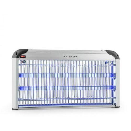 Mosquito ex 6000 lampa owadobójcza pułapka na owady 43v światło uv 200m² srebrna marki Waldbeck