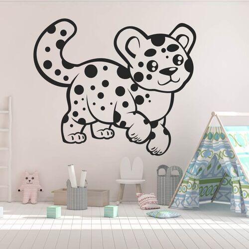 Naklejka na ścianę dla dzieci puma 2410