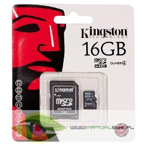 microSDHC 16GB class4 + adapter, 1_146745