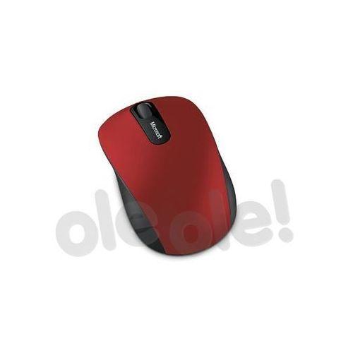 Microsoft  bluetooth mobile mouse 3600 (czerwony) - produkt w magazynie - szybka wysyłka!