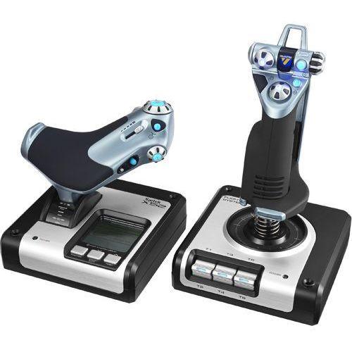 Joystick LOGITECH 945-000006 G Saitek X52 Flight Control System