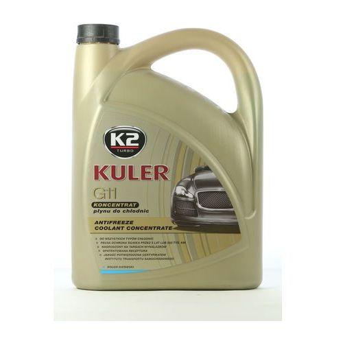 Płyn do chłodnicy kuler - niebieski 5 litrów (koncentrat) marki K2