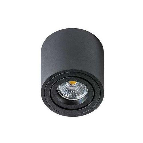 Spot lampa sufitowa mini bross gm4000 bk natynkowa oprawa metalowa downlight tuba czarna marki Azzardo