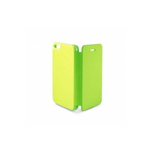 KSIX Etui FOLIO dedykowane do Apple iPhone 5C - zielone Odbiór osobisty w ponad 40 miastach lub kurier 24h - produkt z kategorii- Futerały i pokrowce do telefonów