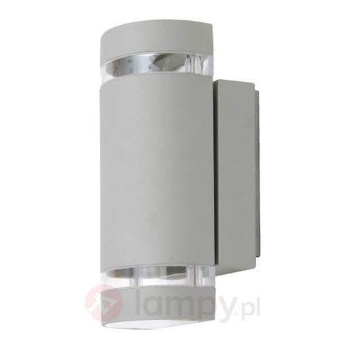 Piękna lampa designerska Focus srebrna, 5604011112