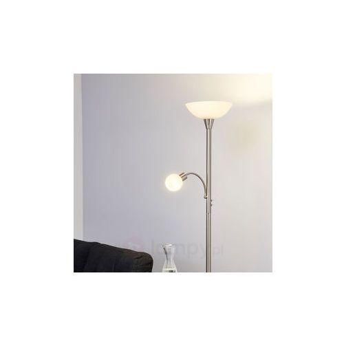 ELAINA – 2-punktowa lampa stojąca LED, nikiel, mat (6291106552522)